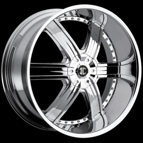 18 Inch Rims And Tires >> II Crave Number 4 Rims (Chrome) | 20 X 9.5, 22 X 9.5, 24 X ...