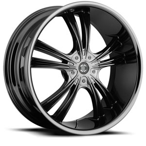 Crave Number 2 Black Chrome 16 X 7 Inch Wheels