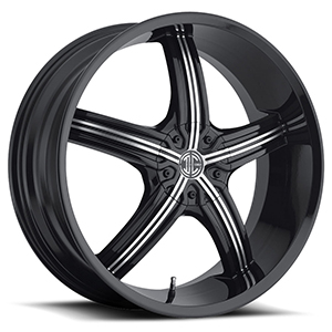 Crave Number 23 Black 18 X 7.5 Inch Wheels
