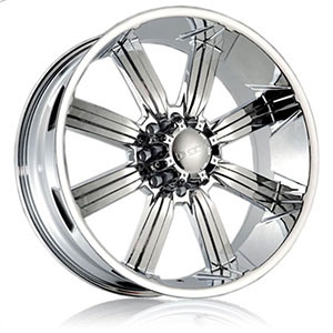DCenti DW 903 Chrome 22 X 10 Inch Wheel