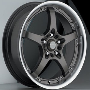 Akuza 429 Gun Metal 17 X 7.5 Inch Wheel