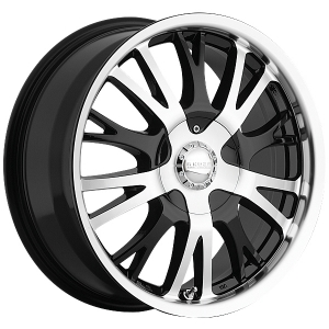 Akuza 455 Drift 17X7.5 Gloss Black