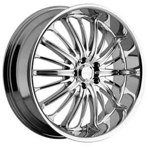Akuza 761 Belle Chrome 22 X 8.5 Inch Wheel