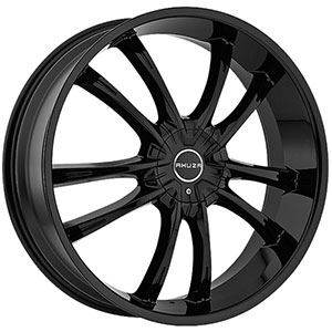Akuza 847 Shadow Gloss Black 24 X 8.5 Inch Wheel
