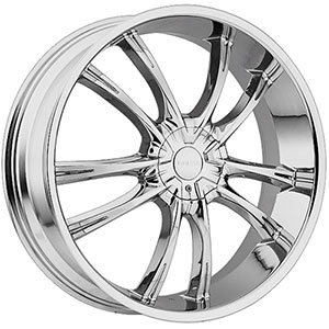 Akuza 847 Shadow Chrome 22 X 8.5 Inch Wheel