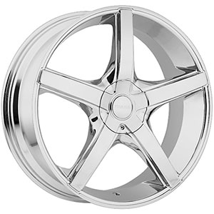 Akuza 848 Axis Chrome 20 X 8.5 Inch Wheel
