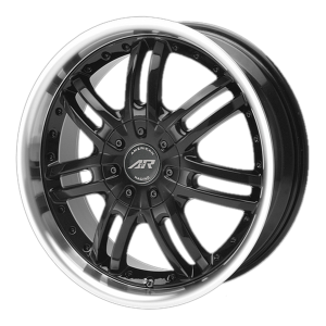 American Racing  AR363 Haze 17X7.5 Gloss Black With Diamond Cut Lip