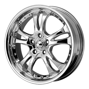 American Racing  AR393 Casino 20X7.5 Chrome Plated