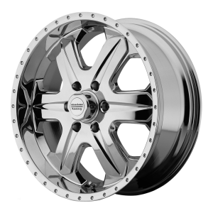 American Racing  AR619 Fuel 17X8 Chrome Plated