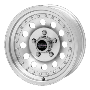 American Racing  AR62 Outlaw II 17X8 Machined With Clearcoat