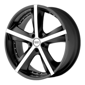 American Racing  AR882 Phantom 17X7.5 Gloss Black With Clearcoat