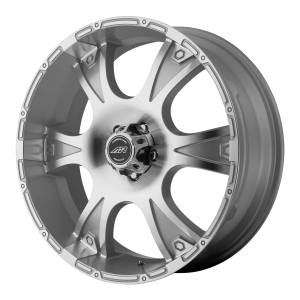 American Racing  AR889 Dagger 17X8 Silver Machined