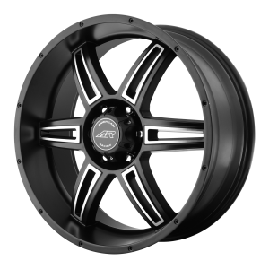 American Racing  AR890 18X8 Satin Black Machined