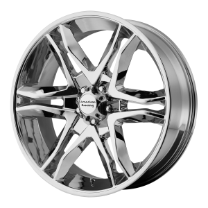 American Racing  AR893 Mainline 18X8.5 Chrome Plated
