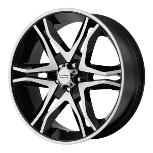 American Racing  AR893 Mainline 17X8 Gloss Black Machined