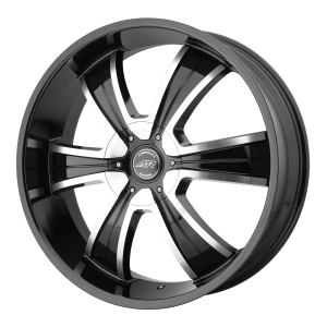 American Racing  AR894 22X9 Gloss Black Machined
