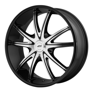 American Racing  AR897 22X9 Gloss Black Machined