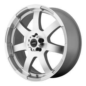 American Racing  AR899 18X8 Bright Silver With Machined Face