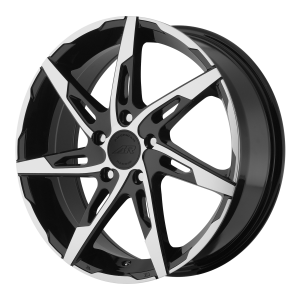 American Racing  AR900 18X7.5 Gloss Black Machined