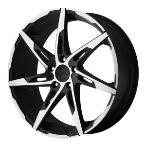 American Racing AR900 18X7.5 Satin Black Machined