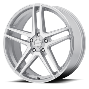American Racing AR907 17X7.5 Silver with Machined Face
