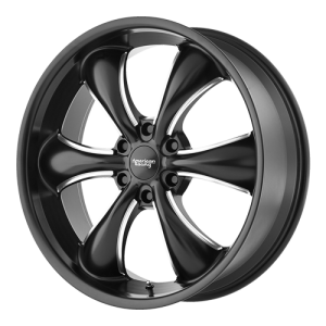 American Racing AR914 18X8.5 Black Milled