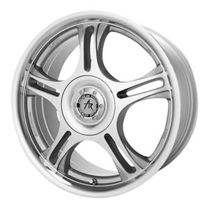 American Racing  AR95 Estrella 17X7.5 Machined With Clearcoat