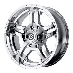 American Racing  AX181 Artillery 18X8 Chrome Plated
