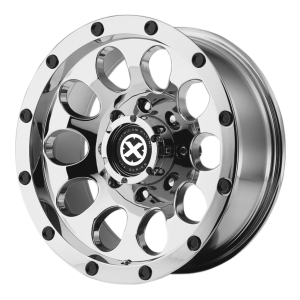 American Racing  AX186 Slot 17X8 Chrome Plated
