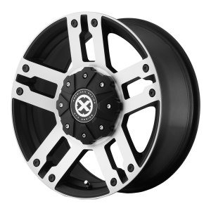 American Racing  AX190 Dune 17X8.5 Satin Black With Machined Face