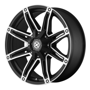 American Racing  AX193 Axe 18X8.5 Satin Black With Machined Face