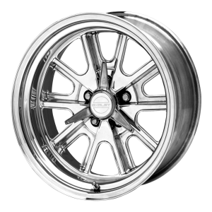 American Racing  VN427 Shelby Cobra 15X7 2-Piece Mag Gray Center Polished Rim