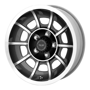 American Racing  VN47 Vector 15X8.5 Anthracite Machined