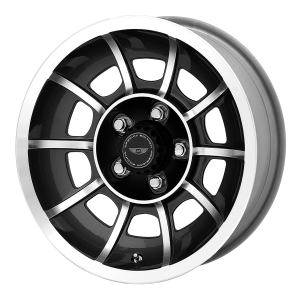 American Racing  VN47 Vector 15X8.5 Satin Black Machined