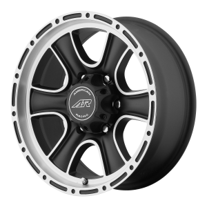 American Racing  VN515 Torq Thrust II 1 Pc 15X9 Satin Black Machined