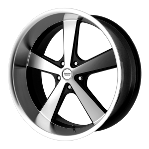 American Racing VN701 NOVA 17X8 Gloss Black Machined