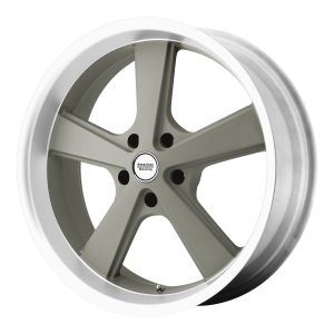American Racing  VN701 Nova 18X9 Mag Gray Machined Lip