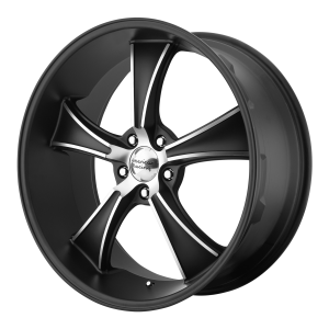 American Racing  VN805 Blvd 17X7 Satin Black With Machined Face