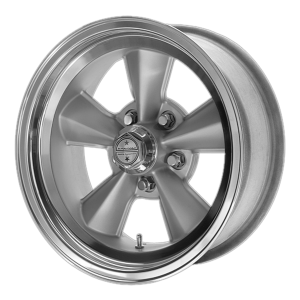 American Racing  VNT71R 17X8 Gunmetal With Polished Lip