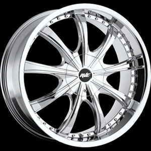 Avenue type 605 Chrome 22 X 9.5 Inch Wheel