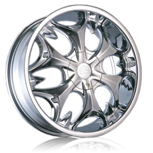 Borghini B3S 24X8.5 Chrome