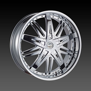 Borghini BW B27 18 X 7.5 Inch Chrome Wheel