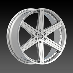 DCenti DW 6B Chrome 22 X 9 Inch Wheel