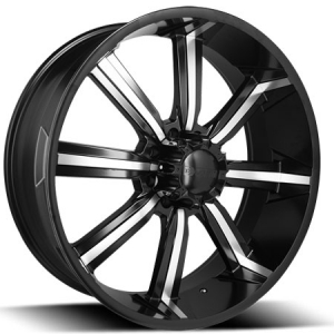Dcenti DW 903 24X10 Black Machined
