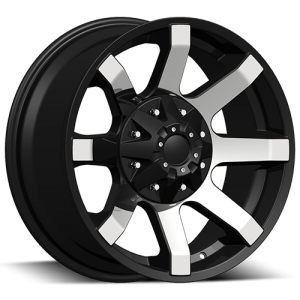 Dcenti DW 950 17X9 Black Machine