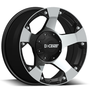 Dcenti DW 995 17X9 Black Machine