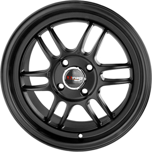 Drag DR 21 Flat Black 15 X 7 Inch Wheels