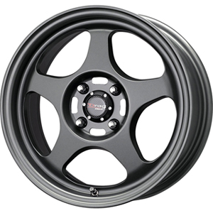Drag DR 23 Charcoal Gray 15 X 6.5 Inch Wheels