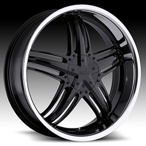 Milanni Force Type 457 Gloss SS Lip 18 X 7.5 Inch Wheels