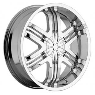 Milanni Blade Runner Chrome 22 X 8.5 Inch Wheels